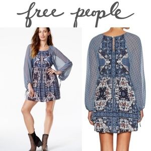 Free People Oksana Mini Dress Size 12